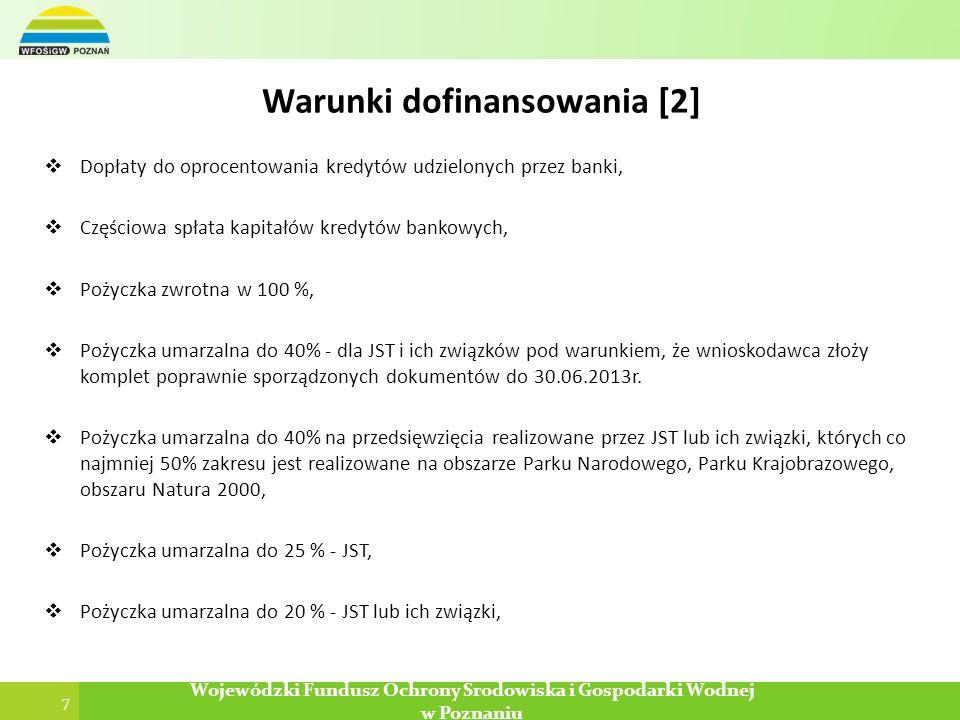 Warunki dofinansowania [2]
